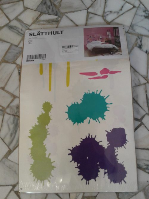 Ikea Slatthult decoration stickers nuovi