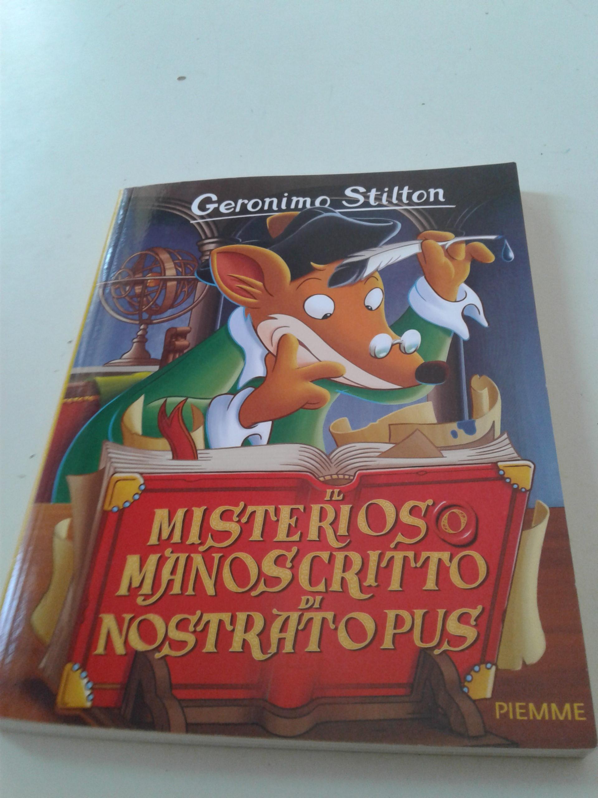 Geronimo Stilton Misterioso manoscritto