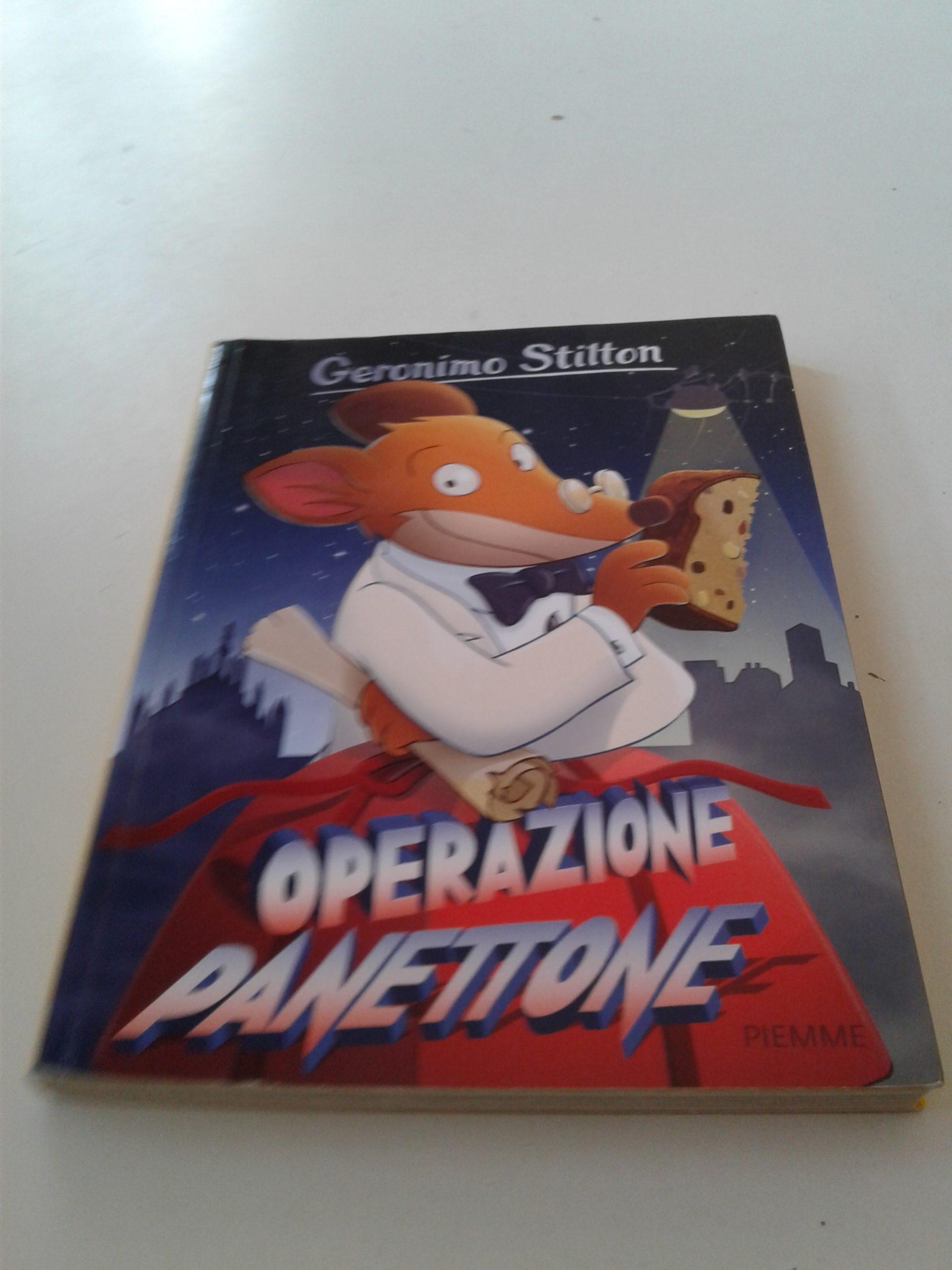 Geronimo Stilton Operazione Panettone