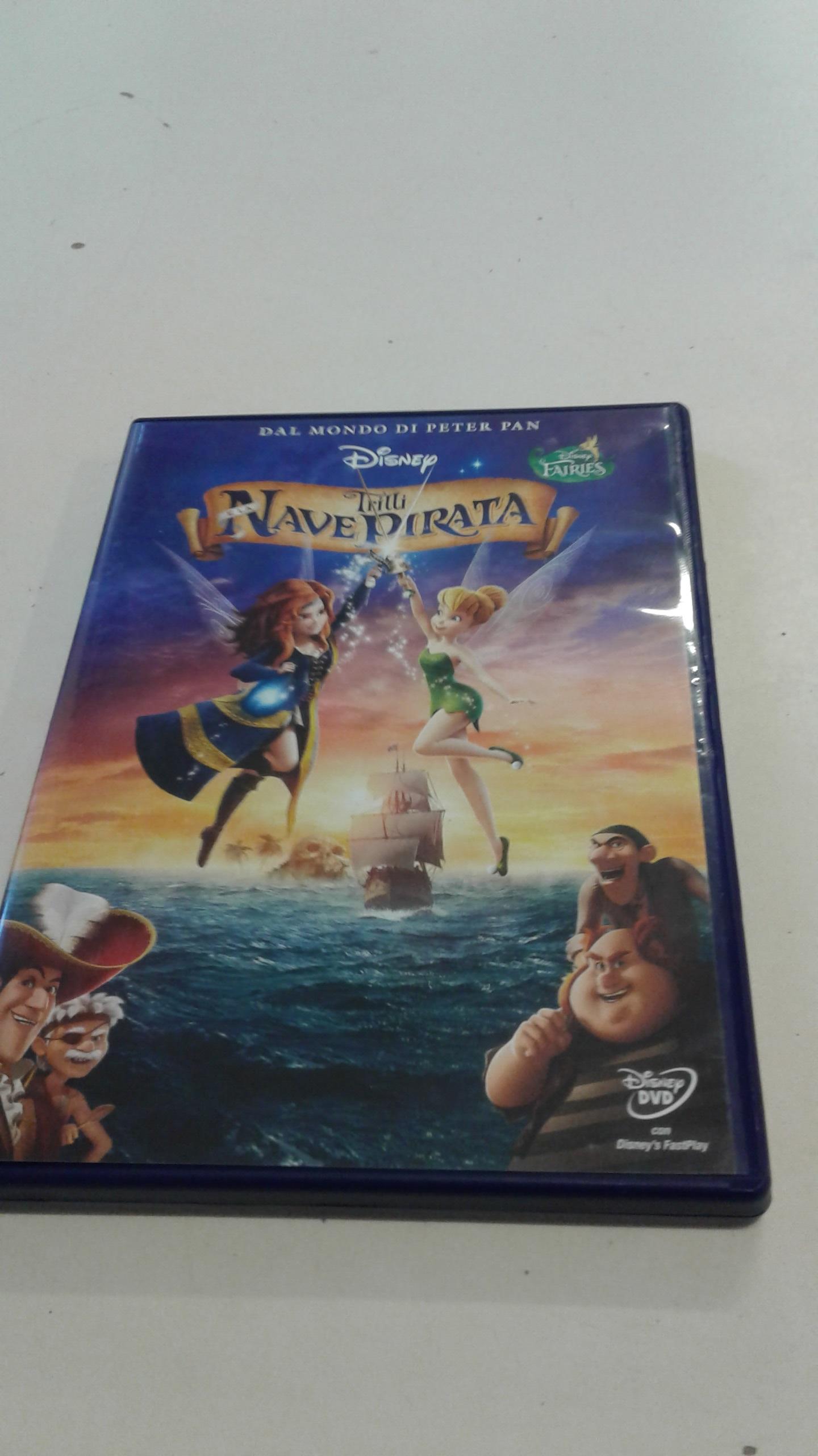 DVD Disney Trilli la nave pirata
