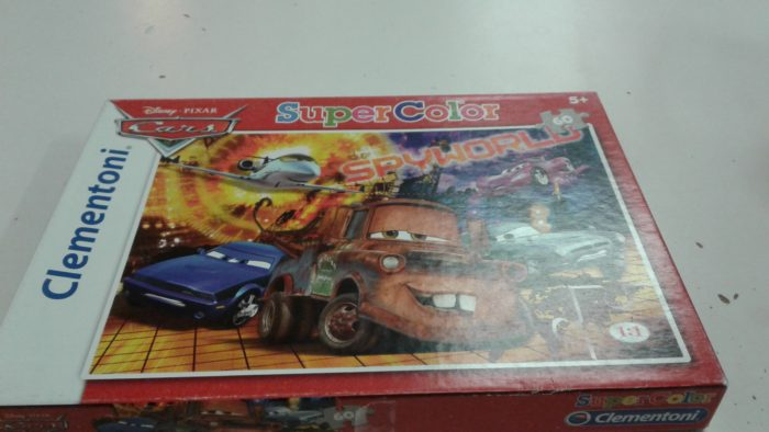 Clementoni Cars 60 zp puzzle