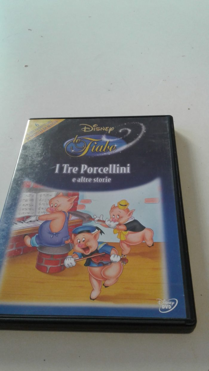 DVD Disney I tre percellini
