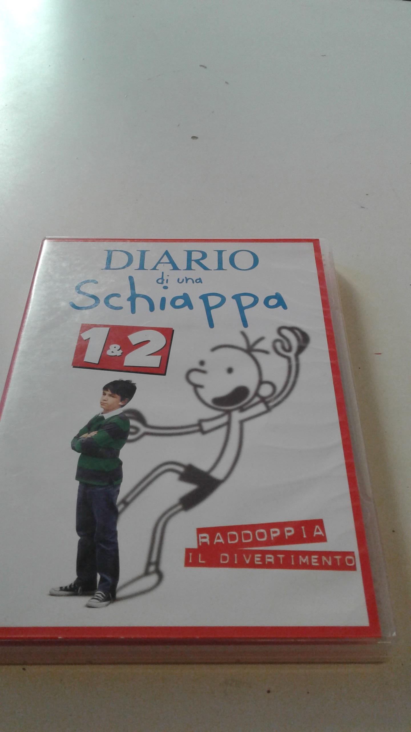 DVD Diario di una Schiappa 1 & 2
