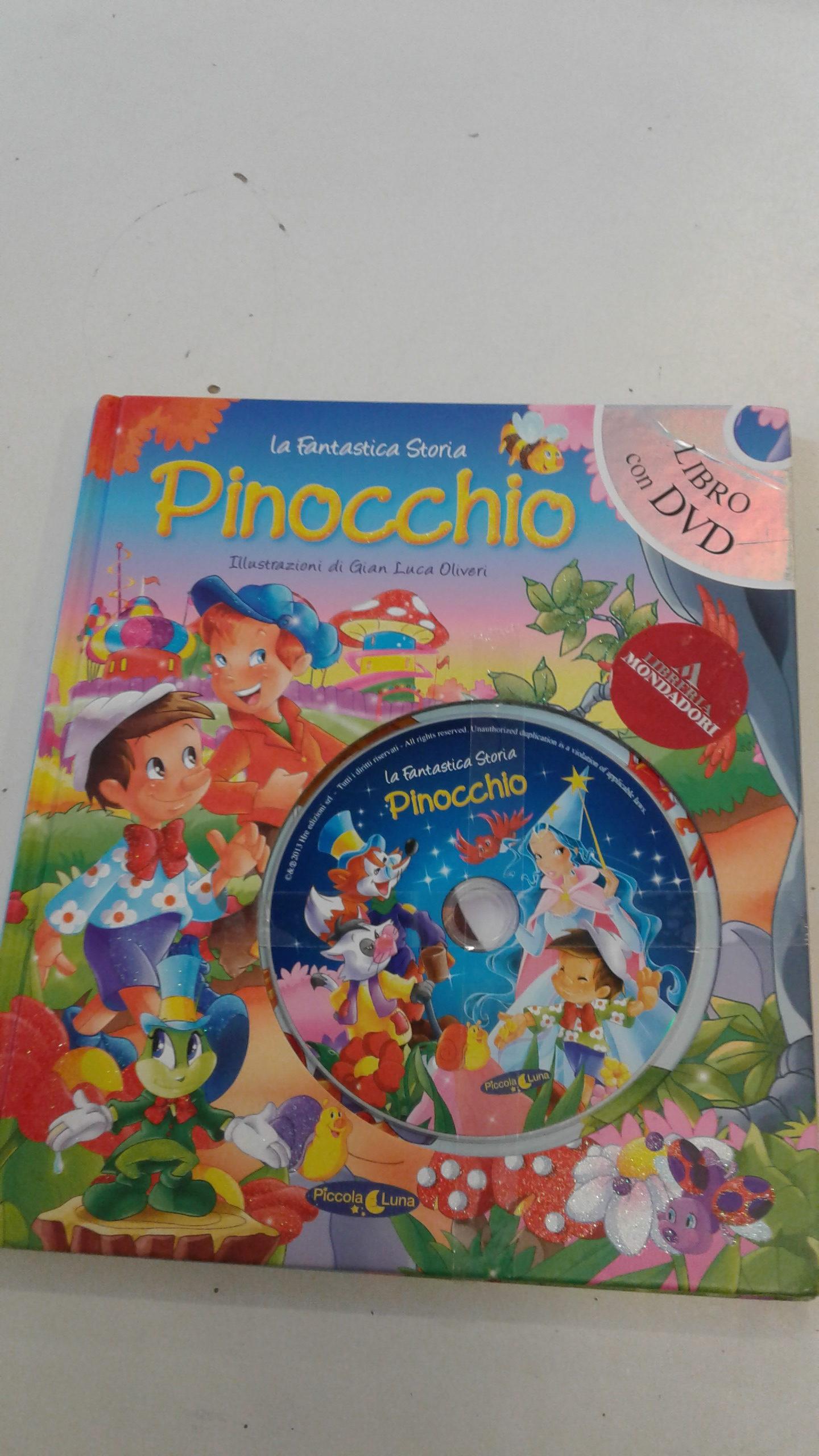 Pinocchio con cd