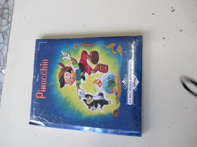 Pinocchio libro nuovo