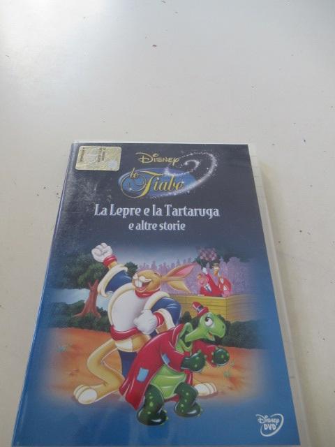 DVD Disney La lepre e la tartaruga