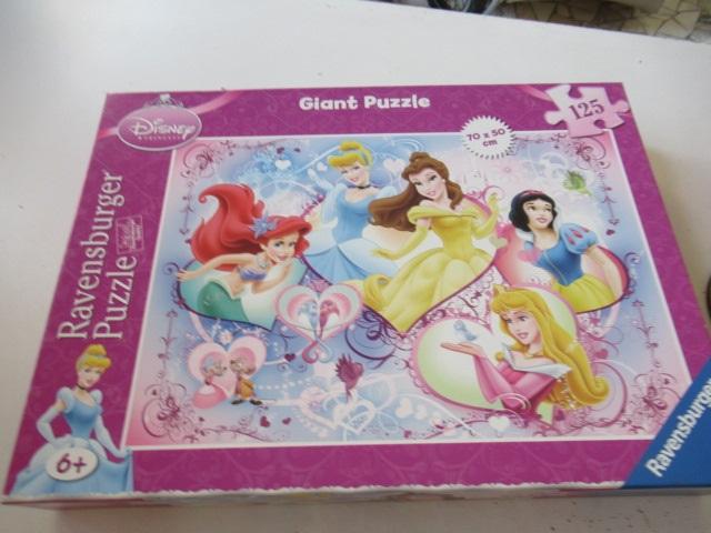 Ravensburger Giant Puzzle 125 pz Principesse