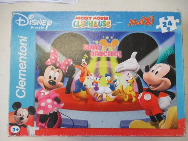 Clementoni puzzle maxi 24 pz