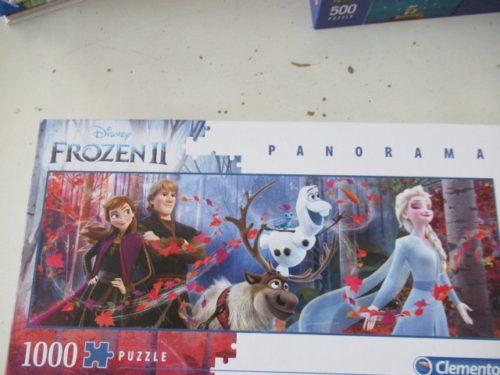 Frozen II puzzle 1000 pz