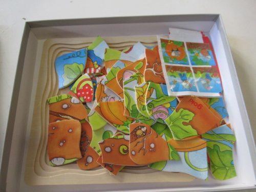 Puzzle in legno 4 serie